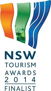 NSW Tourism Awards 2014 finalist