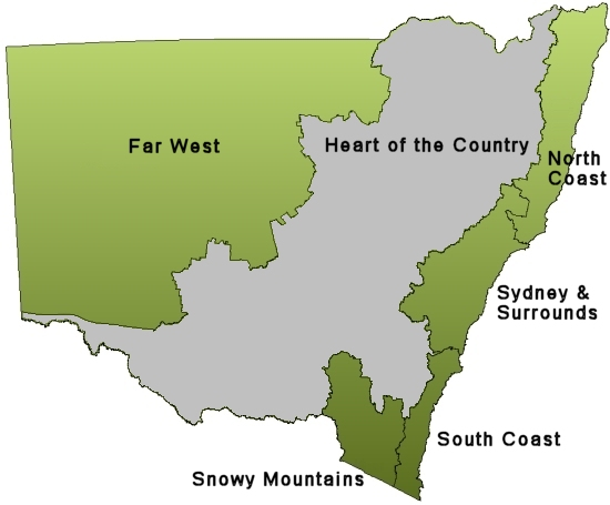 heart of country map