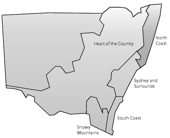 northern map