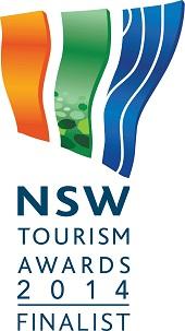 NSW Tourism Awards 2014 finalist