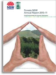 Forestry Corporation annual report cover