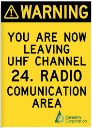 You are leaving UHF Channel 24